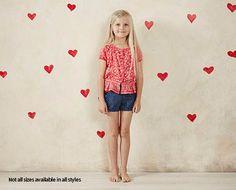 Little Girls Set - 2 Piece Red Set - ALDI Australia