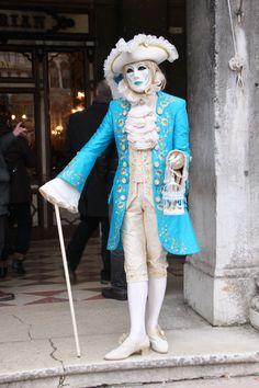 Casanova waits outside Florian's Cafe, St Mark's Square