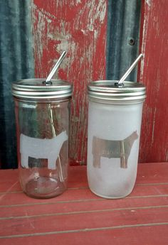 24 oz Show Steer Mason Drinking Jar & Stainless Steel Straw Wedding Gifts For Bride And Groom, Best Wedding Gifts, Bride Gifts, Mason Jar Crafts, Mason Jars, Show Cows, Show Steers, Drinking Jars, Fluffy Cows