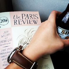 Back on the train for my next meeting. Nothing like The Paris Review to pass the time. #ReadEverywhere