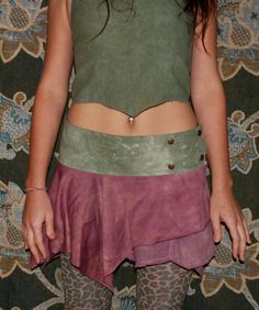 Ixia skirt - psy trance, festival, hippie, rave, earthy, gypsy. £28.00, via Etsy.