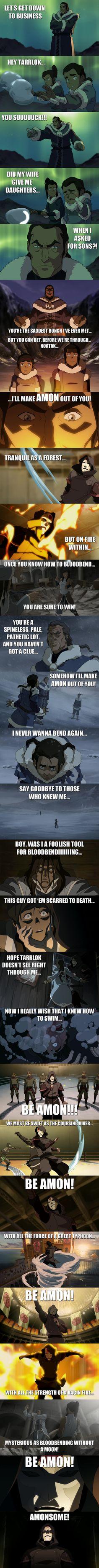 The Legend of Korra meets Mulan: I'll Make Amon Out of You!  FTW!