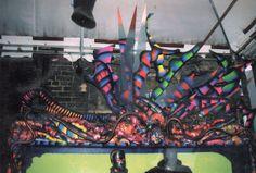 Gennaro Cilento, installazione scultura permante, materiali vari riciclati