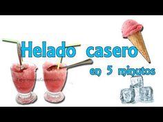 Cómo hacer helado casero en menos de 5 minutos (Experimentos Caseros) - YouTube