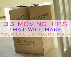 33 Moving Tips!