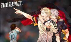 Tags: Soccer, Flag, Axis Powers: Hetalia, Prussia, Germany, Argentina