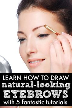 Love the look of groomed, shaped, thick eyebrows, but have no idea how to sport it without looking like a clown? No worries! These fabulous tutorials are just what you need to learn how to draw eyebrows that look NATURAL. And guess what? It's not as difficult as it looks!