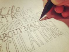 Hand lettering guide. This looks like great fun and useful for making cards!