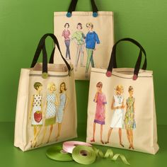 Sewing Model Tote Bag - Sew cute!