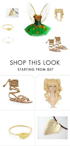 """""""Autumn Fairy"""" by mysherm6775 ❤ liked on Polyvore featuring Ancient Greek Sandals, Jennifer Meyer Jewelry and Blue Nile"""