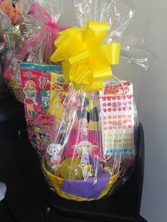 Frozen easter basket baskets pinterest frozen easter basket easter basket for your daughter niece or granddaughter negle Images