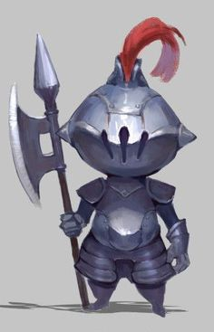 Armour can come in all shapes and sizes, and can be shown at such a young age