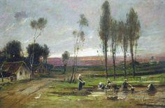Munkácsy Mihály (1844-1900) - Patak partján