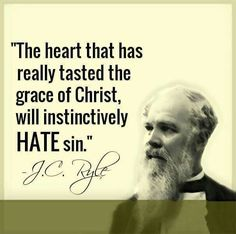 christian quotes | J.C. Ryle quotes | sin