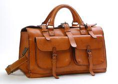 Sandast Bourbon Leather Bag