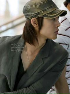 Kim Hyun Joong 김현중 ♡ hat ♡ long hair ♡ Kpop ♡ Kdrama ♡
