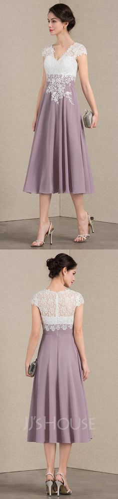 Find elegant mother of the bride & groom dresses at JJsHouse in various colors, styles and sizes. Our elegant mother of bride dresses are customized to fit every body type. Mob Dresses, Special Dresses, Mothers Dresses, Tea Length Dresses, Bridesmaid Dresses, Bride Dresses, Stylish Dresses, Women's Fashion Dresses, Pretty Outfits