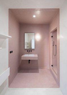 Find out: 15 attracting pastel bathroom interior design ideas Minimal Apartment, Duplex Apartment, Bad Inspiration, Bathroom Inspiration, Bathroom Ideas, Bathroom Designs, Bathroom Hacks, Funny Bathroom, Bathroom Inspo