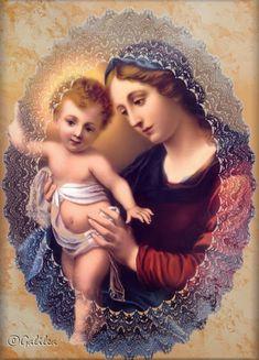 Santa María, líbranos de las penas del infierno.