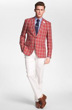 Ted Baker London Sportcoat, 1901 Dress Shirt & John Varvatos Star USA Trousers  available at #Nordstrom