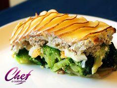 Ricottás rakott brokkoli recept - Zöldség receptek