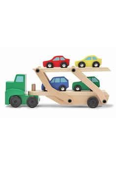 Melissa & Doug Wooden Car Carrier available at #Nordstrom