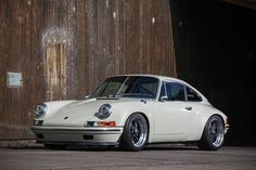 The Porsche 911 is a truly a race car you can drive on the street. It's distinctive Porsche styling is backed up by incredible race car performance. Porsche 356, Porsche Autos, Porche 911, Singer Porsche, Porsche Sports Car, Porsche Carrera, Porsche Cars, Porsche 2017, Custom Porsche