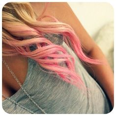 I would never do this with my hair but I think it's really cute.