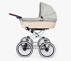 kinderwagen f r m dchen in pink mit zarten bl ten aus spitze modell bebecar ip op prive. Black Bedroom Furniture Sets. Home Design Ideas