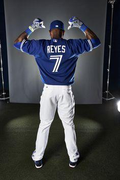 Jose Reyes, my favourite Blue Jay Baseball Uniforms, Baseball Socks, Baseball Players, Baseball Outfits, Baseball Field, Jose Reyes, Minnesota Twins Baseball, Baseball Equipment, Toronto Blue Jays