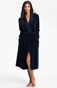 Hermosa by Christina E. Long Velour Robe | Nordstrom