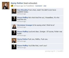 OMG Drarry, a really disturbing person created this ship.