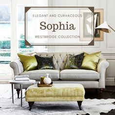 Elegant and curvaceous Sophia has fully deep buttoned interior and deep Extra-life seat cushions and a sprung edge made from premium British steel. Sophia is part of the Westbridge collection. British Steel, Accent Pillows, Seat Cushions, Hardwood, Furniture Design, Deep, Elegant, Interior, Life