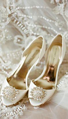Those were my wedding shoes! But mine were Carolina blue!