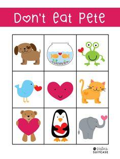 Imagens fofas de animais em desenhos para imprimir - Dicas pra Mamãe