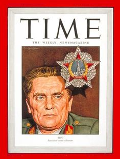 TIME Magazine Cover: Josip Broz Tito - Sep. 16, 1946 - Yugoslavia