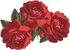 Roses photo stitch free embroidery design 9 - Photo stitch embroidery - Machine embroidery forum
