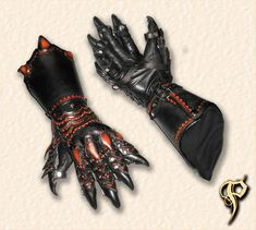 Lion Armor Claw Gauntlets by =Azmal on deviantART