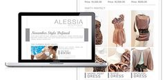 Alessia email newsletter