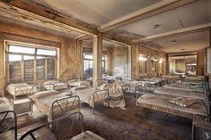 "Creepy... (""Forgotten Places - Abandoned Orphanage"", by German photographer Sven Fennema / www.sven-fennema.de)"