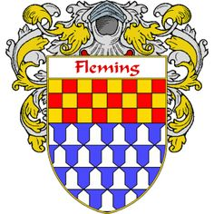 Fleming Coat of Arms   namegameshop.com has a wide variety of products with your surname with your coat of arms/family crest, flags and national symbols from England, Ireland, Scotland and Wale