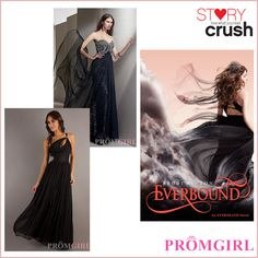 Everbound-YA Prom - Dresses inspired by YA Covers