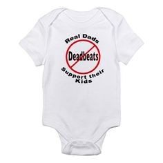 REAL DADS Infant Bodysuit on CafePress.com