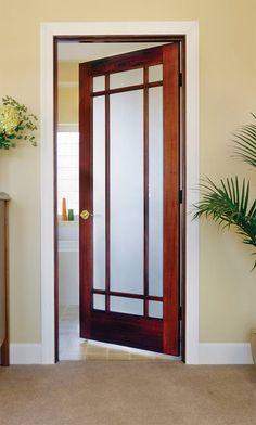Cool single swing white frozzen pantry door with wooden glass door st louis doors and closets llc glass doors interior planetlyrics Image collections