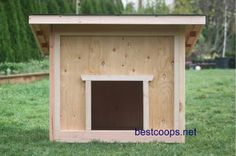 Giant Dog House Plans | Large Dog House Plan 1 | eBay