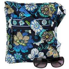 @Overstock - Keep your personal effects in an adorable hipster bag from Vera Bradley  Handbag features quilted fabric construction   Chic tote showcases elegant floral pattern  http://www.overstock.com/Clothing-Shoes/Vera-Bradley-Mod-Floral-Blue-Hipster-Bag/4134676/product.html?CID=214117 $34.99