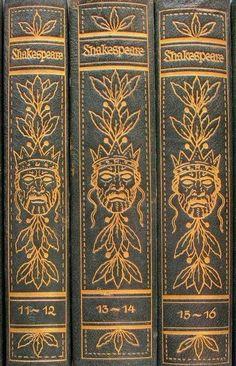 11 Bände Shakespeares Werke, übertragen nach Schlegel-Tieck von Max J. Wolff. Mit Bildern nach Radierungen von Arthur Kampf Berlin, Volksverband der Bücherfreunde, Wegweiser-Verlag o. J. (um1925)