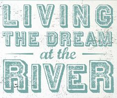 Items similar to River Sign Living The Dream At The River 17 x 20 Rustic Wooden Weathered Vintage Style River Sign Home Decor Sign Wall Hanging Sign on Etsy River Quotes, River House Decor, River Camp, Tiki Bar Decor, Bedroom Decor For Couples, Wooden Boat Plans, Old Sewing Machines, Boat Building Plans, Rustic Wood Signs