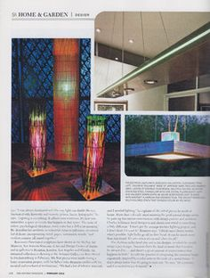 San Antonio Magazine profiles Lightlink Lighting. p2 #Lightlinklighting #Houzz #SanAntoniomag