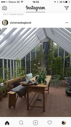 Greenhouse Farming is the process of cultivating crops and vegetable. If you have a greenhouse or are considering setting up one, then we'll share what greenhouse plants grows best inside. Home Greenhouse, Greenhouse Wedding, Greenhouse Gardening, Greenhouse Attached To House, What Is A Conservatory, Simple Interior, Outdoor Living, Outdoor Decor, Industrial House